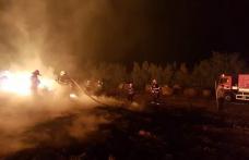 300 de tone de furaje distruse într-un incendiu, la Mitoc - FOTO