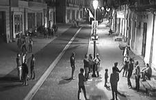 Amenzi în noapte, în Centrul Vechi al municipiului Botoşani