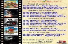 """Vezi ce filme vor rula la Cinema """"MELODIA"""" Dorohoi, în săptămâna 19 - 25 octombrie – FOTO"""