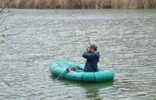 A trecut Prutul pentru a pescui în Moldova
