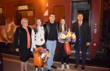 Campioanele de la Clubul Sportiv Botoșani s-au întors acasă, după Jocurile Olimpice de Tineret - FOTO