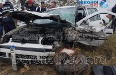 Grav accident de circulație! Trei persoane rănite după impactul a două mașini la ieșirea din Darabani - FOTO