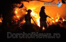 Peste patru ore de intervenție la Dragalina! Incendiul a fost provocat intenționat