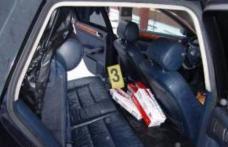 Ţigări de contrabandă confiscate de poliţişti în urma unui control de rutină