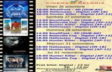 """Vezi ce filme vor rula la Cinema """"MELODIA"""" Dorohoi, în săptămâna 26 octombrie – 1 noiembrie – FOTO"""
