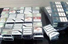 Ţigări de contrabandă confiscate de poliţişti în zona Pieței Centrale