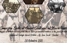 Simpozion dedicat anului Centenar al Marii Uniri la Dorohoi