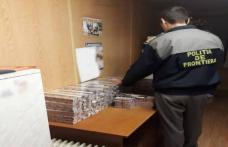 Țigări de contrabandă ascunse în trenul care circulă pe relația Chișinău - Iași - București