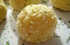 Bulgarași de cartofi cu brânză