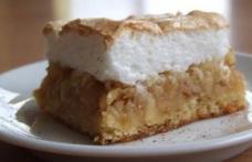 Prăjitură cu mere și bezea
