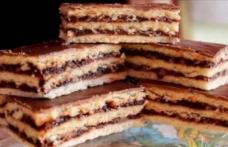 Prăjitură cu gem și nucă (de post)