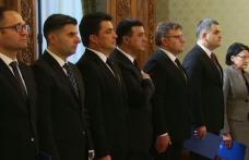 Noii miniştri acceptați din Guvernul Dăncilă au depus jurământul, la Palatul Cotroceni