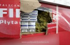 Captură record la frontiera Siret. Un milion de pachete de ţigări ascunse în două TIR-uri