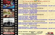 """Vezi ce filme vor rula la Cinema """"MELODIA"""" Dorohoi, în săptămâna 23 – 29 noiembrie – FOTO"""