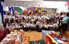 """Celebrarea Centenarului Marii Uniri sărbătorit la Grădiniţa cu P.P. """"Ştefan cel Mare şi Sfânt"""" Dorohoi """"Mândri că suntem români!"""" - FOTO"""