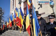Ziua Națională a României sărbătorită la Dorohoi cu momente solemne și depunere de coroane - VIDEO / FOTO