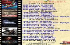 """Vezi ce filme vor rula la Cinema """"MELODIA"""" Dorohoi, în săptămâna 7 – 13 decembrie – FOTO"""