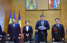 Ceremonial de avansare în grad pentru polițiștii de la Pașapoarte și Permise