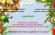 """INVITAȚIE de weekend: """"Primeşte-ne gazdă-n casă!"""" Festival - Concurs de colinde, cântece de iarnă, datini de Crăciun şi Anul Nou"""