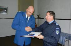 Jandarm botoşănean recompensat de conducerea Ministerului Afacerilor Interne - FOTO