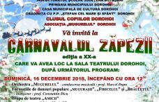 """Clubul Copiilor Dorohoi organizează ediția jubiliară a """"Carnavalului Zăpezii"""""""