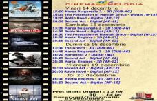 """Vezi ce filme vor rula la Cinema """"MELODIA"""" Dorohoi, în săptămâna 14 – 20 decembrie – FOTO"""