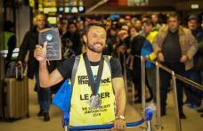 Eveniment deosebit organizat la Botoșani pentru primirea pompierului ultramaratonist Iulian Rotariu - FOTO