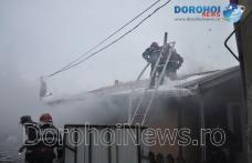 Incendiu izbucnit la o casă din Dorohoi! Pompierii au intervenit prompt pentru stingere - FOTO