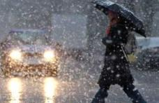 Meteorologii au emis o atenționare generală de tip COD GALBEN de ninsoare și vânt