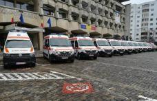 12 ambulanțe dintre cele achiziționate de Guvern au ajuns sâmbătă la Botoșani - FOTO