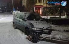 Accident în Dorohoi! O mașină scăpată de sub control a ajuns într-un parc – FOTO