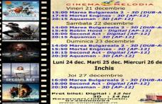 """Vezi ce filme vor rula la Cinema """"MELODIA"""" Dorohoi, în săptămâna 21 – 27 decembrie – FOTO"""