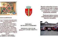Serviciul Voluntar pentru Situații de Urgență al municipiului Dorohoi vă reamintește