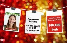 """Campania E.ON """"Dăruiește Lumină"""" a mobilizat peste o mie de români pentru a face fapte bune de sărbători"""
