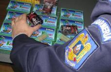 Petarde şi ţigări confiscate de jandarmi la Dorohoi