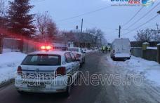 Tragic! Bărbat găsit decedat pe marginea străzii Colonel Vasiliu din Dorohoi - FOTO