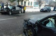 Accident! Impact violent între două mașini la Mihăileni - FOTO