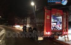 Intervenții prompte ale pompierilor în Ajun de Crăciun! Incendii izbucnite în Șendriceni și Dorohoi - FOTO
