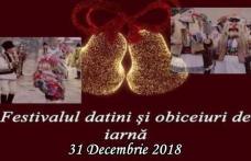 Festivalul de datini și obiceiuri de iarnă la Dorohoi: Vezi programul din 31 decembrie 2018!
