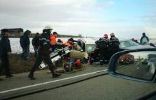 Accident grav pe drumul european Iași – Târgu Frumos - FOTO