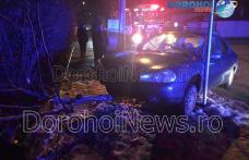 Accident în Dorohoi! O mașină scăpată de sub control a ieșit de pe carosabil – FOTO