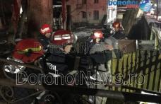 Intervenție promptă a pompierilor la început de an! Pericol de explozie pe strada A.I. Cuza din Dorohoi - FOTO