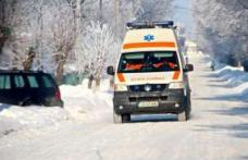 Minoră ajunsă la Spitalul Dorohoi după ce a fost izbită de o mașină scăpată de sub control