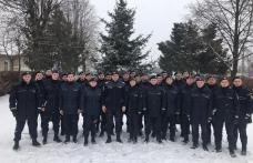 Elevi în practică la Jandarmeria Botoşani