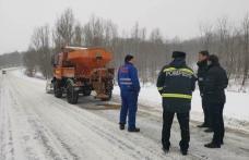 Prefectul Șlincu, în control pe drumurile din județ - FOTO