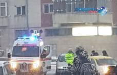 Accident în centrul municipiului Dorohoi! Un tânăr de 20 de ani a ajuns la spital - FOTO