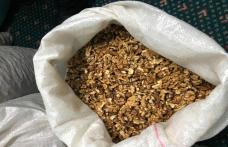 Contrabandă cu miez de nucă descoperit de Poliţiştii de Frontieră Botoşani