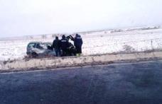 Accident GRAV pe drumul E58: O depăşire riscantă s-a terminat la spital - FOTO