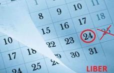 Lovitură pentru bugetari: Fără minivacanţă în ianuarie. Vor lucra pe 25 ianuarie