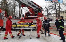 """Incendiu la Cinema """"Melodia"""" Dorohoi: Exercițiu de amploare a pompierilor dorohoieni – VIDEO/FOTO"""